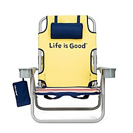 Life is Good® Folding Beach Chair with Cooler