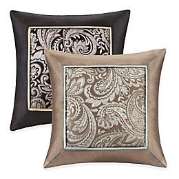 Madison Park Aubrey Square Throw Pillows (Set of 2)