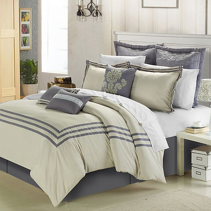 Alternate image 1 for Chic Home Cosmo 8-Piece Comforter Set
