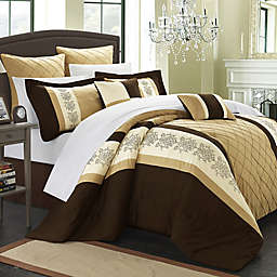 Chic Home Livingston 8-Piece Comforter Set