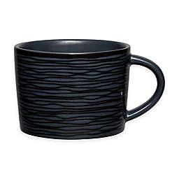 Noritake® Black on Black Swirl Cup