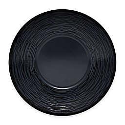 Noritake® Black on Black Swirl Saucer
