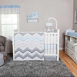 Trend Lab® Blue Taffy Crib Bedding