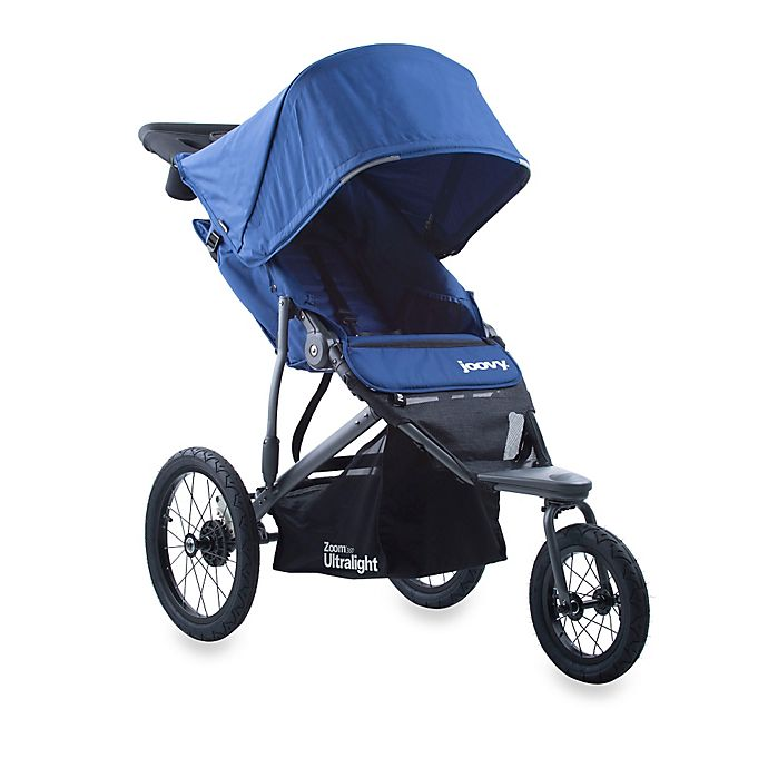Alternate image 1 for Joovy® Zoom 360 Ultralight Jogging Stroller in Blueberry