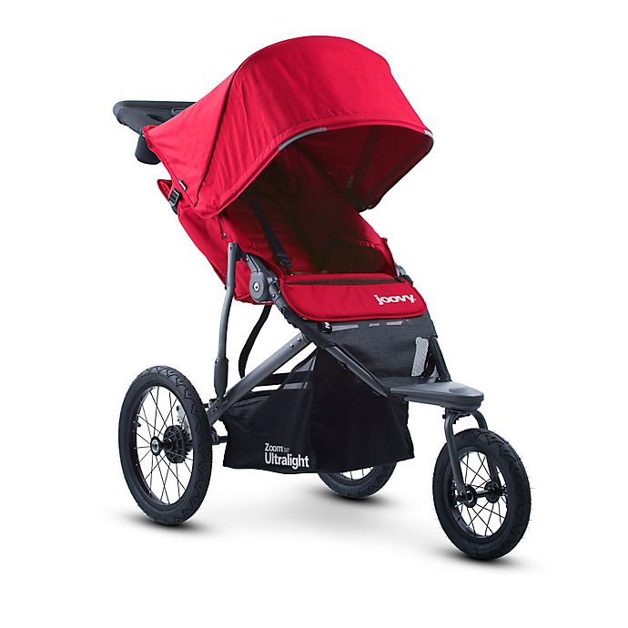 Joovy Zoom 360 Ultralight Jogging Stroller In Red Buybuy Baby