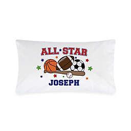 """""""All Star"""" Sports Pillowcase"""