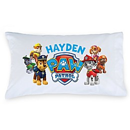 "Nickelodeon™ ""PAW Patrol"" Puptastic Pillowcase in White/Multicolor"