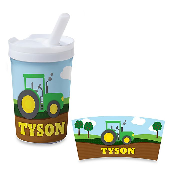 Alternate image 1 for Tractor 8 oz. Sippy Cup