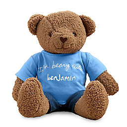 """I'm Beary Cute"" Sandra Magsamen Plush Teddy Bear Stuffed Animal"