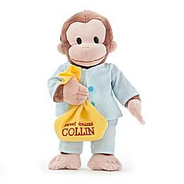 Curious George in Pajamas Plush Stuffed Animal