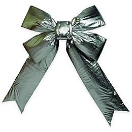 Vickerman 24-Inch x 30-Inch Lamé Bow in Silver