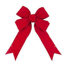 Vickerman 36-Inch x 45-Inch Velvet Bow in Red
