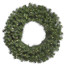 Vickerman Douglas Fir Pre-Lit Wreath with Warm White Lights