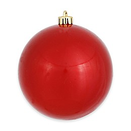 Vickerman 12-Inch Red Candy Finish Ornament