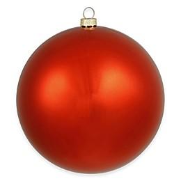 Vickerman 15.75-Inch Shiny Red Ball Ornament