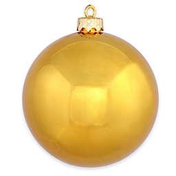 Vickerman 15.75-Inch Antique Gold Shiny Ornament