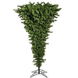 Vickerman 7.5-Foot Upside Down Artificial Christmas Tree