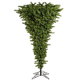 Vickerman Upside Down Pre-Lit Christmas Tree with Clear Lights