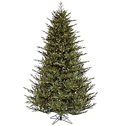 Vickerman 7.5-Foot Itasca Frasier Pre-Lit Christmas Tree with Clear Lights