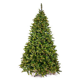 Vickerman Cashmere Pine Pre-Lit Christmas Tree with Warm White LED Lights