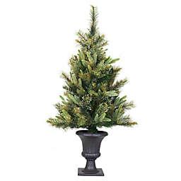 Vickerman 3.5-Foot Cashmere Pine Christmas Tree