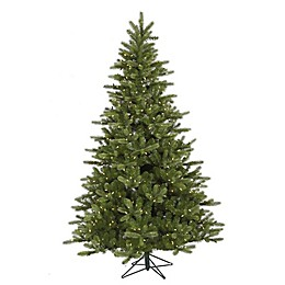 Vickerman 5.5-Foot King Spruce Pre-Lit Christmas Tree with Warm White LED Lights