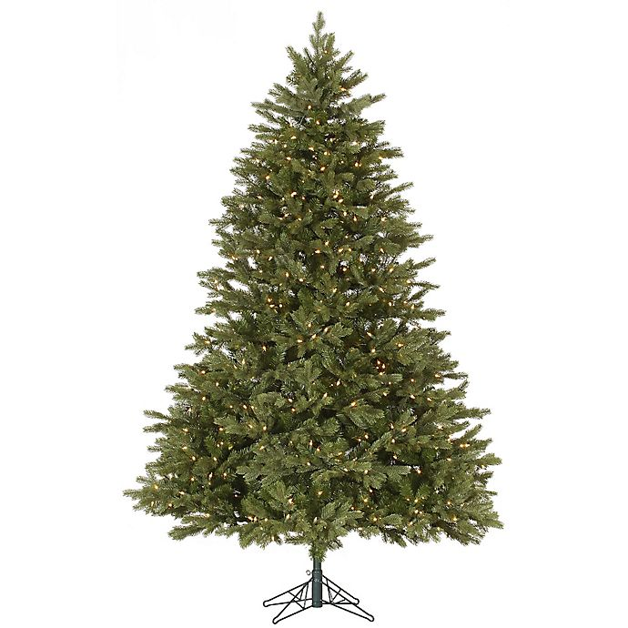 Alternate image 1 for Vickerman Balsam Fir Dura-Lit Pre-Lit Christmas Tree with Clear Lights