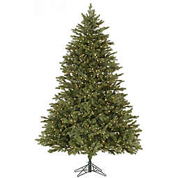 Vickerman Balsam Fir Dura-Lit Pre-Lit Christmas Tree with Clear Lights