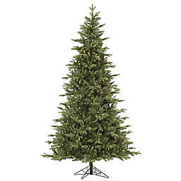 Vickerman Fresh Balsam Fir Pre-Lit Christmas Tree with Clear Dura-Lit Lights