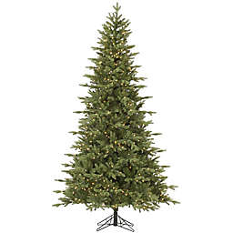 Vickerman 7.5-Foot Fresh Balsam Fir Pre-Lit Christmas Tree with Clear Dura-Lit Lights