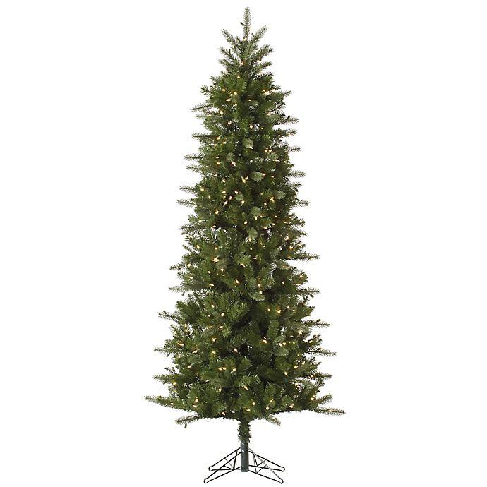 Vickerman Christmas Trees.Vickerman Carolina Pencil Spruce Pre Lit Christmas Tree With Clear Lights