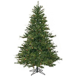 Vickerman 6.5-Foot Mixed Country Pine Christmas Tree