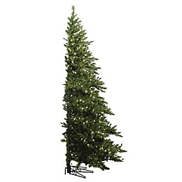 Vickerman Westbrook Pine Pre-Lit Half Christmas Tree with Clear Lights