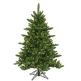 Vickerman Camdon Fir Dura-Lit Pre-Lit Christmas Tree with Clear Lights