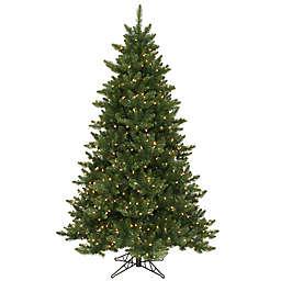 Vickerman 6.5-Foot Camdon Fir Dura-Lit Pre-Lit Christmas Tree with Clear Lights