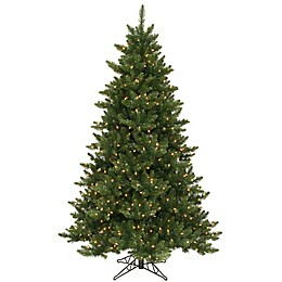 Vickerman Camdon Fir Pre-Lit Christmas Tree with Warm White LED Lights