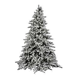 Vickerman Flocked Utica Fir Artificial Christmas Tree