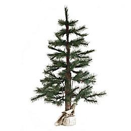 Vickerman 5-Foot Norwegian Pine Christmas Tree with Burlap Base