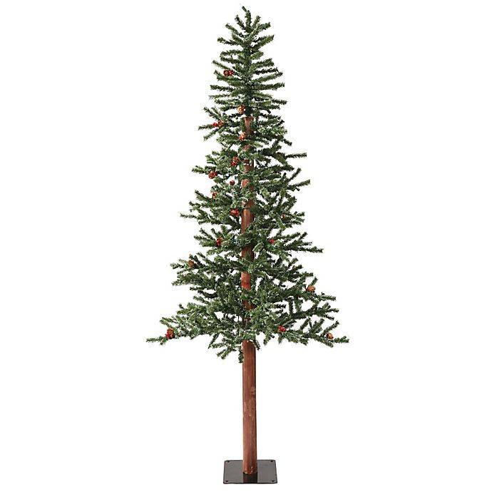 Where To Buy A Pre Lit Christmas Tree: Buy Vickerman 7-Foot Frosted Alpine Berry Pre-Lit
