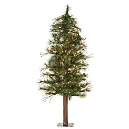 Vickerman Mixed Country Pine Tree Pre-Lit with Clear Lights