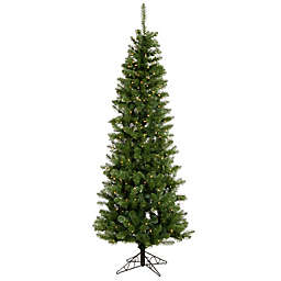 Vickerman Salem Pine Pencil Pre-Lit Christmas Tree with Clear Dura-Lit Lights