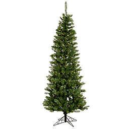 Vickerman Salem Pine Pencil Pre-Lit Christmas Tree with Clear Dura-Lit Lights