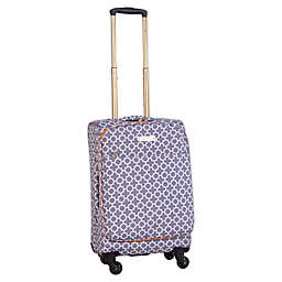 Jenni Chan Aria Broadway 20-Inch Spinner Carry On Luggage
