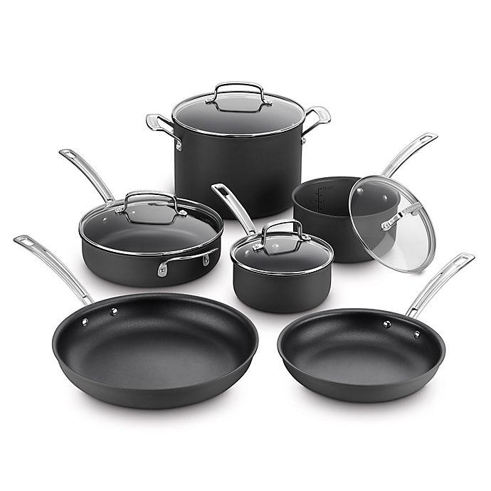 Cuisinart® Kitchen Pro™ Nonstick Hard Anodized 10-Piece Cookware Set