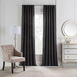 Cambria® Malta Euro Pleat Back Tab Window Curtain Panel