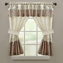 Croscill Magnolia Bath Window Curtain Valance