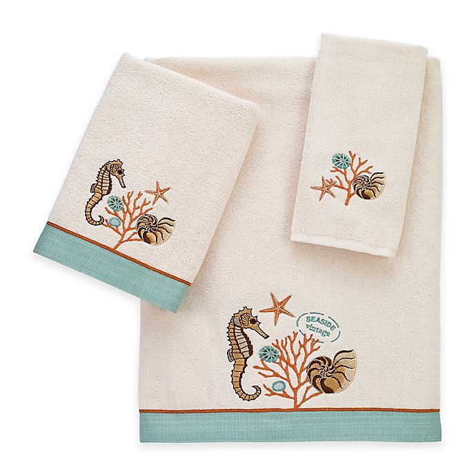 Alternate image 1 for Avanti Seaside Vintage Bath Towel
