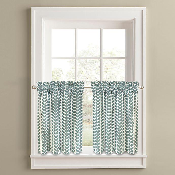 Alternate image 1 for Samantha Window Curtain Tier Panel Pair