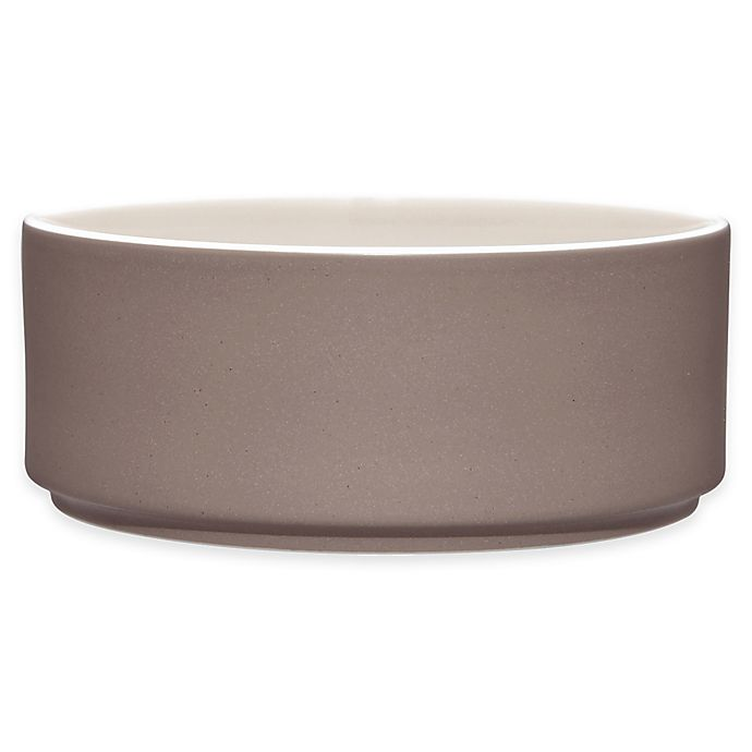Alternate image 1 for Noritake® ColorTrio Stax Cereal Bowl in Clay