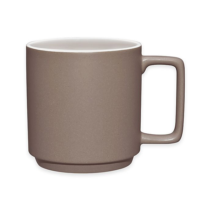 Alternate image 1 for Noritake® ColorTrio Stax Mug in Clay
